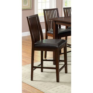 Furniture of America Copter 24-inch Counter Height Stool (Set of 2)
