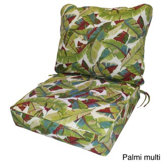 Greendale Deep Seat Outdoor Back and Seat Cushion Set (More options available)