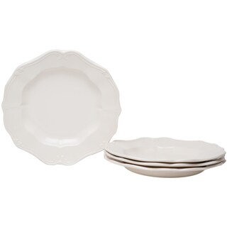 Country Estate White 8.25-inch Salad Plates (Set of 4)