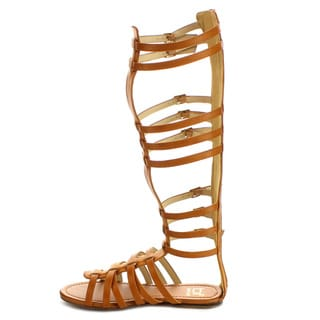 Beston FA52 Women's Flat Gladiator Sandal
