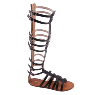 Beston FA52 Women's Flat Gladiator Sandal