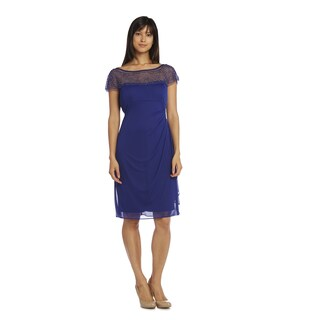 R&M Richards Women's Short Chiffon Dress (More options available)