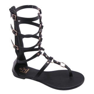 Beston FA54 Women's Strappy Gladiator Sandal|https://ak1.ostkcdn.com/images/products/11138547/P18138052.jpg?impolicy=medium