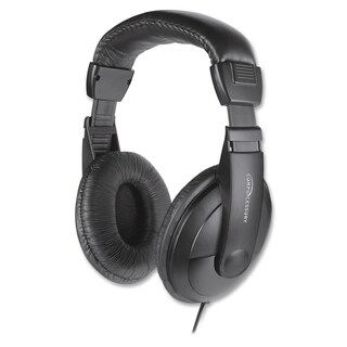 Compucessory Cushion Stereo Headphones w/Vol Cntrl - 1/EA