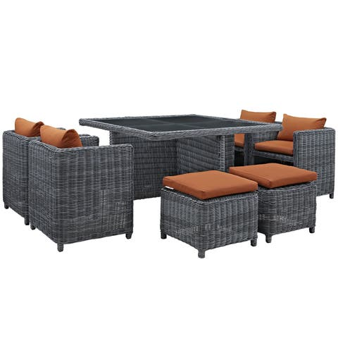 Invite 9-piece Outdoor Patio Dining Set