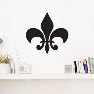 Fleur-de-lis' 12 x 12-inch Wall Decal