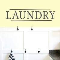 Laundry' 36 x 8.5-inch Wall Decal