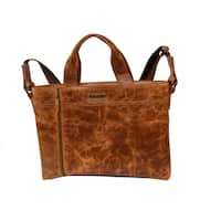 AYL Georgetown Leather Business Tote Bag - Large
