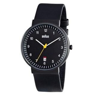 Braun Mens BN0032BKBKG Black Quartz Watch