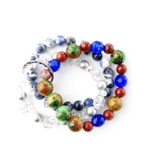 Denim Blues Bracelet