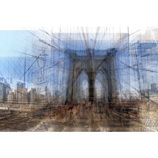 Marmont Hill - Brooklyn Bridge Painting Print on Canvas