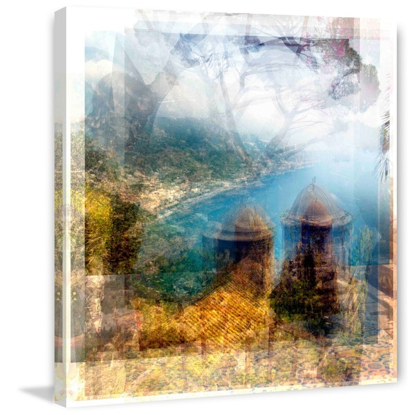 Marmont Hill - Ravello Seaview Painting Print on Canvas
