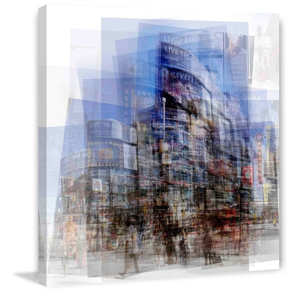 Marmont Hill - Dundas Square Painting Print on Canvas