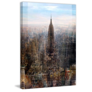 Marmont Hill - Empire State Painting Print on Canvas