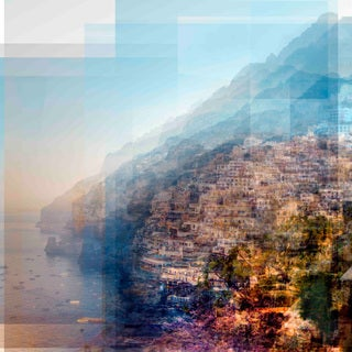 Marmont Hill - Positano 2 Painting Print on Canvas