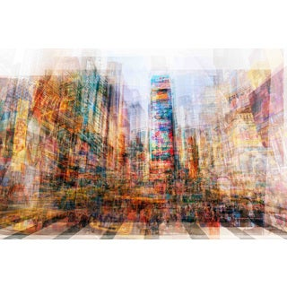 Marmont Hill - New York Times SQ Painting Print on Canvas