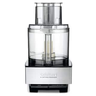 Cuisinart DFP-14BCNY Brushed Stainless Steel 14-cup Food Processor|https://ak1.ostkcdn.com/images/products/11139658/P18138801.jpg?impolicy=medium