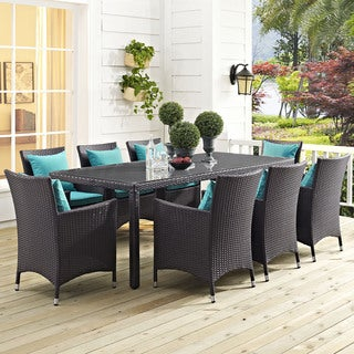 "Gather 82"" Outdoor Patio Dining Table"
