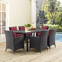 """Clay Alder Home Stillwater 59"""" Outdoor Patio Dining Table"""
