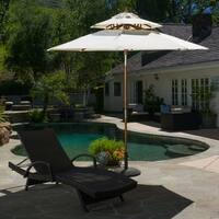 Toluca 8.75-foot Tilt Canopy Umbrella by Christopher Knight Home Outdoor