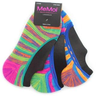 Memoi Women's Star Stripe Liner (Pack of 3)
