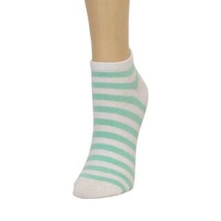 Memoi Women's Classic Stripe Low Cut