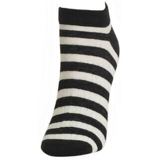 Memoi Women's Color Stripe Low Cut