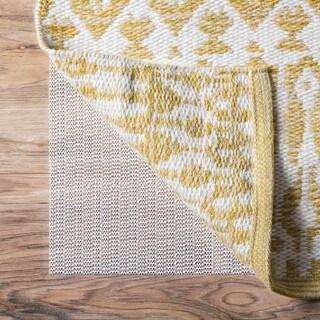 Linenspa White Rubberized Non-slip Indoor Area Rug Pad (8' x 10')