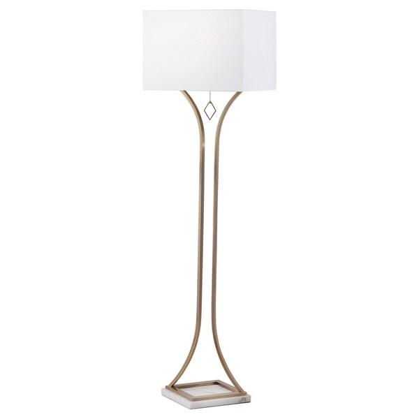 Jubilee Floor Lamp Weathered Brass