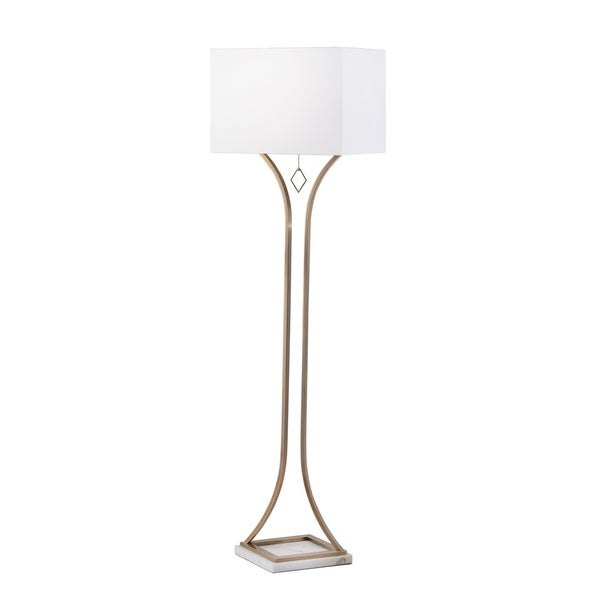 Jubilee Weathered Brass Floor Lamp