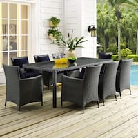 """Stopover 82"""" Outdoor Patio Dining Table"""