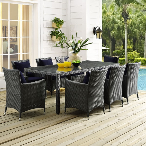 """Patio Picnic Tables For Sale: Shop Stopover 82"""" Outdoor Patio Dining Table"""