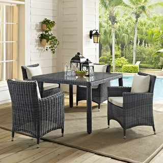 "Invite 47"" Square Outdoor Patio Dining Table"