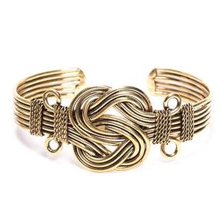 Buddha Knot Cuff Bracelet Handmade in India