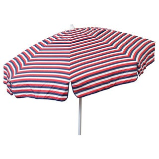 Italian 6 ft. Bistro Three-stripe Patio Umbrella