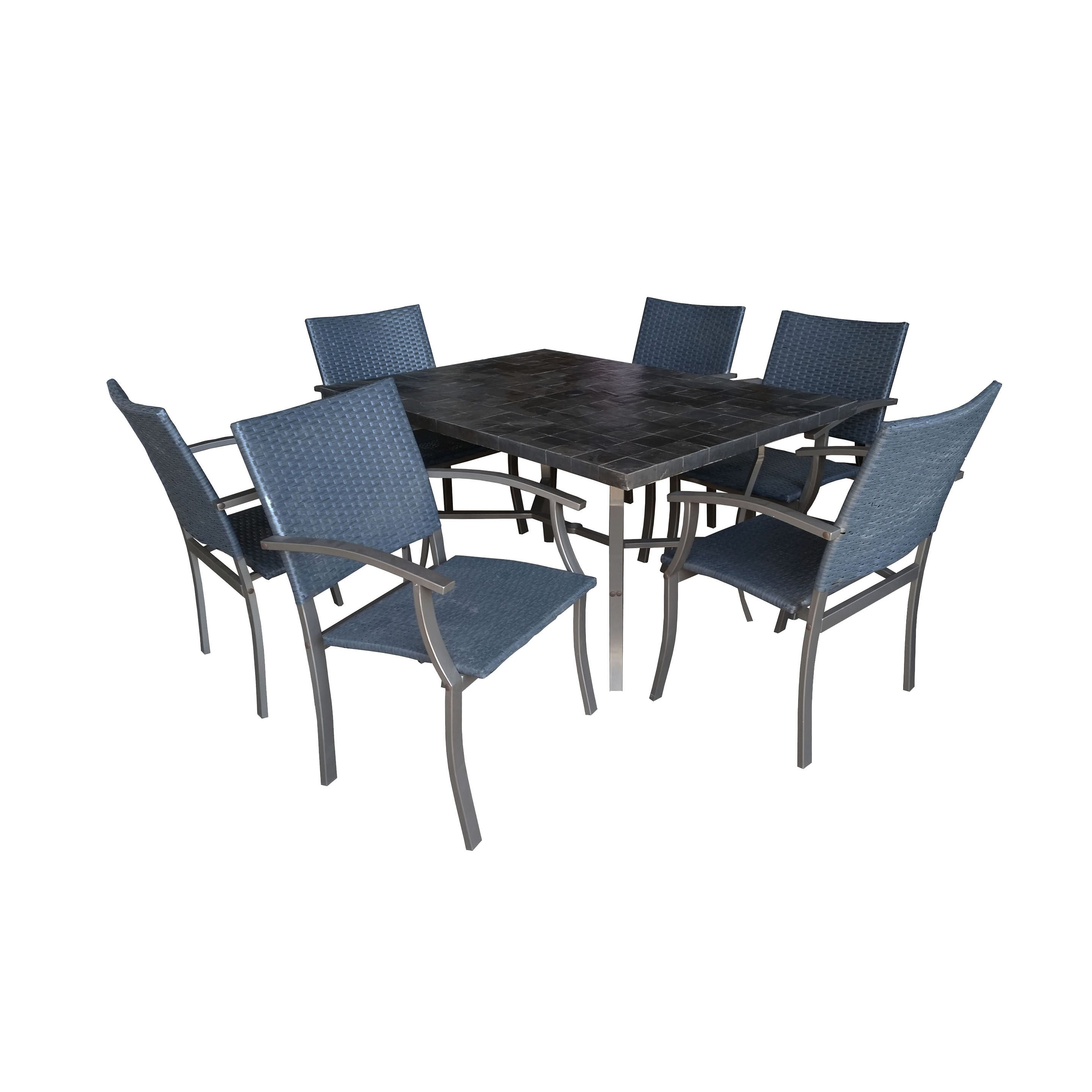 Cumberland Stone 7-piece Dining Set by Home Styles (with ...