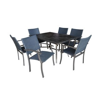 Cumberland Stone 7-piece Dining Set by Home Styles