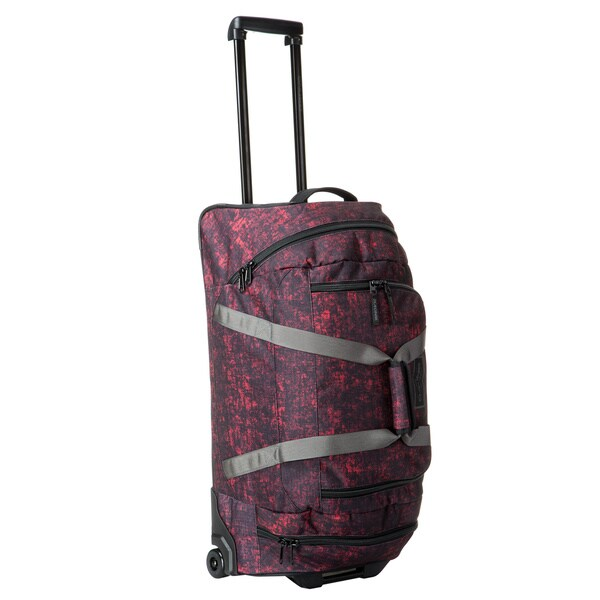5cc2d6a02fa4 Shop Dakine Lava 28-inch 58L Rolling Duffel Bag - Free Shipping ...