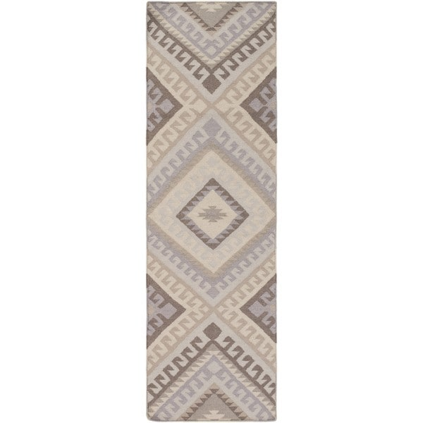 """The Curated Nomad Madrona Bridge Wool Area Rug - 2'6"""" x 8' Runner"""