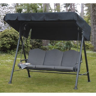 Rhodes Cushioned 3-Seat Steel Swing