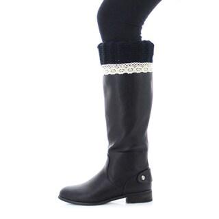 Memoi Women's Weave Ease Boot Topper