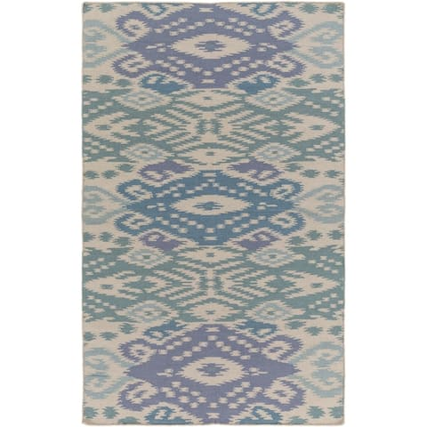 Hand Woven BrazilSata Wool Area Rug