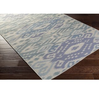 Hand Woven BrazilSata Wool Rug (9' x 13')
