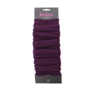 Memoi Women's Chunky Fairisle Knit Legwarmer