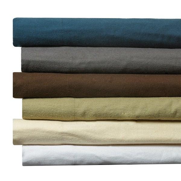 Clara Clark Cotton Flannel Bed Sheet Set