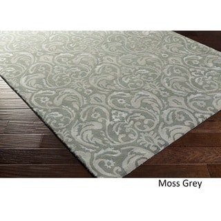 Hand Tufted England Wool Rug (5' x 8')