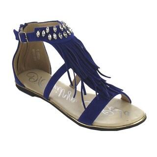 Marilyn Moda ANDES Women Fringe Trimmed Sandal