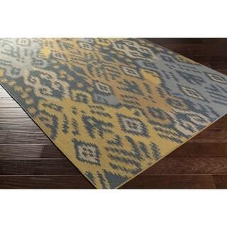 Hand Woven Briarwood Wool Rug (6' x 9')