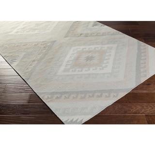 Hand Woven Bridle Wool Rug (6' x 9')