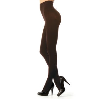 Memoi Women's Perfectly Opaque Longline Shaper Tights